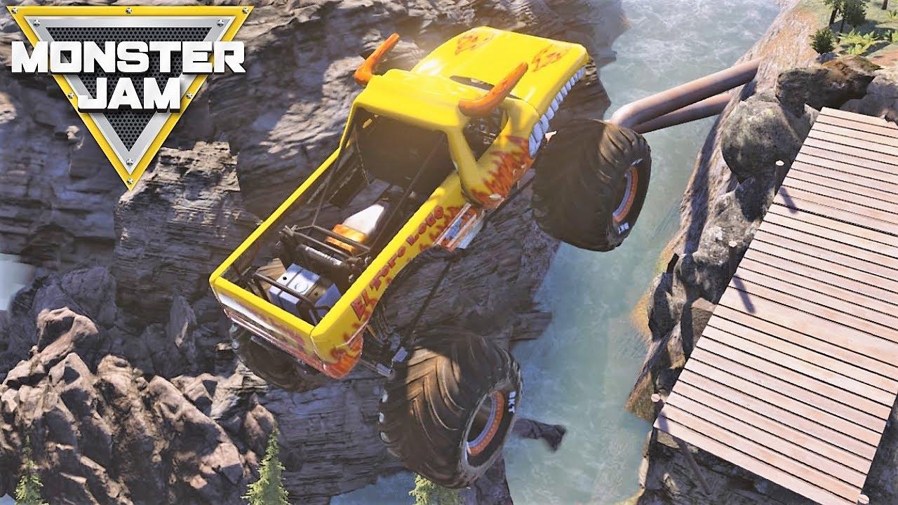 Monster Jam Monster Trucks Epic Video Game Gameplay #2