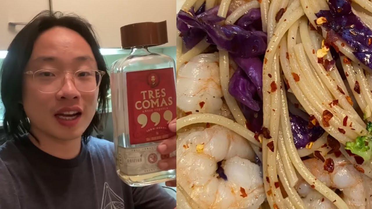 Tequila Shrimp Scampi | Jimmy's Kitchen