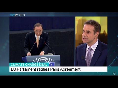 Climate Change Deal: EU Parliament ratifies Paris Agreement