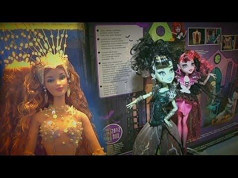 Canavar kızlar Barbie'lere karşı