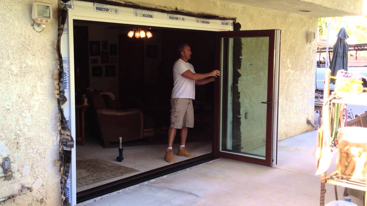 Bi-Fold Exterior Doors - YouTube