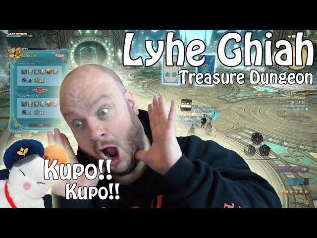 LYHE GHIAH: Treasure Dungeon FFXIV (First Time CLEARANCE??)