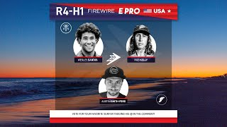 Round 4 Heat 1 FireWire E-Pro USA presented by Futures