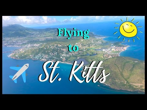 FLYING TO ST. KITTS!! COME FLY WITH ME! || MY BIRTHDAY TRIP - PART 1