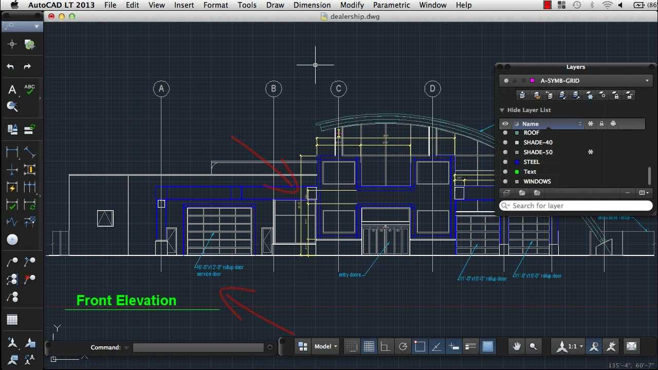 Autocad lt for mac 16
