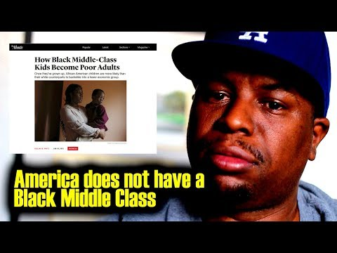 America does not have a Black Middle Class