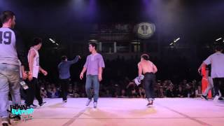 FINAL 4vs.4 Fusion Mc vs. Team Morocco  International Royal Battle 2014