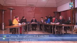 Concejo Municipal Lunes 22 Julio 2019 - El Quisco