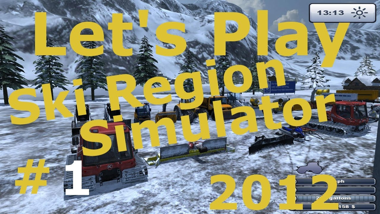 let 39 s play 1 ski region simulator gameplay youtube. Black Bedroom Furniture Sets. Home Design Ideas