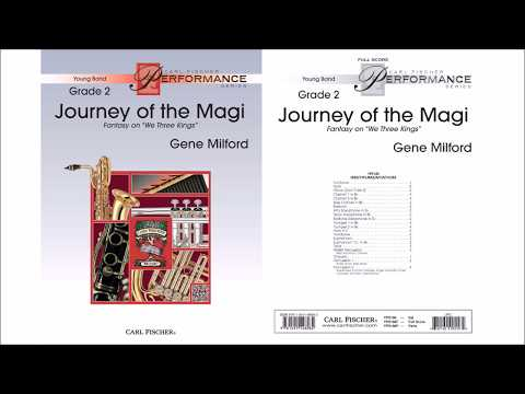 Journey of the Magi (YPS186) Arr. by Gene Milford