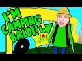 PLAYING AS CAMPING BALDI! (Let's go camping....) | Baldi's Basics Roblox Roleplay