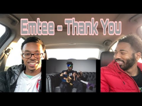 Download Emtee - Thank you (Official music video) | Shadow Views TV reaction