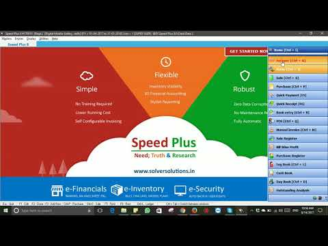 Speed Plus ERP Software For Mobile Stores