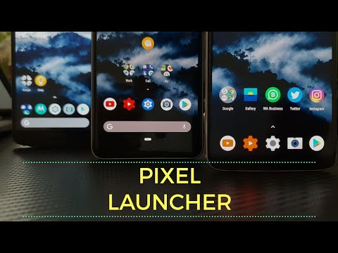 Android P 9 0 (Pie) Rootless Pixel 3 Launcher with Dark Mode