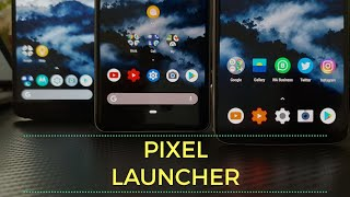 Android P 9.0 (Pie) Rootless Pixel Launcher with Dark Mode