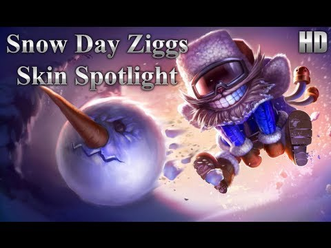 Snow Day Ziggs Skin Spotlight