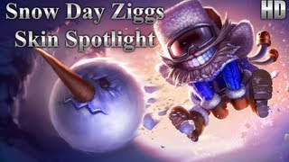 Snow Day Ziggs Skin Spotlight