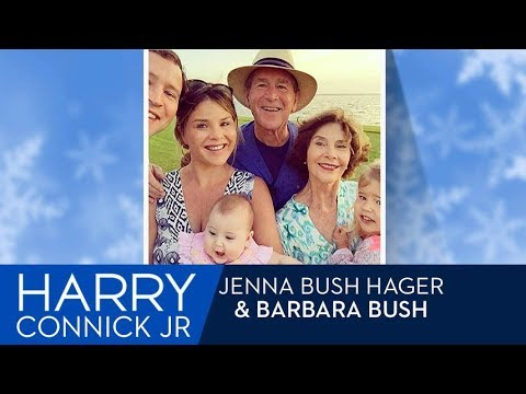George and Laura Bush as Grandparents