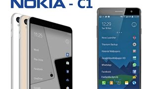 [Dec 22, 2016] Nokia C1 Android Smartphone | First Look 2017.