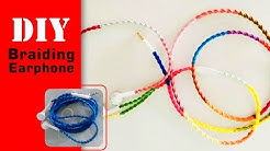DIY | Braiding Earphone | Decor | PrinHeart