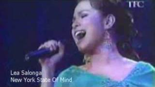 Lea Salonga Belts Out New York State Of Mind