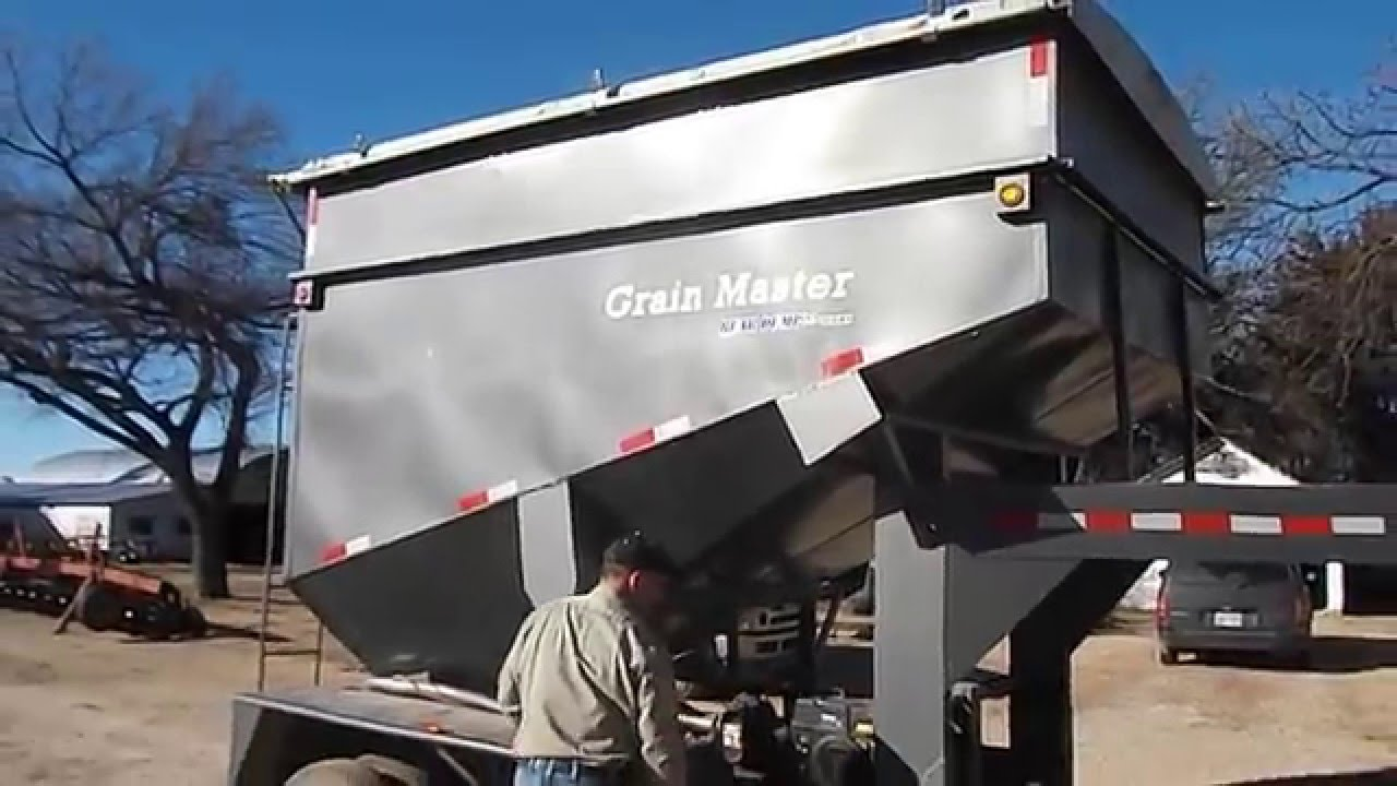 D And D Trailers >> 2009 D K Bulk Seed Tender Grain Trailer Youtube