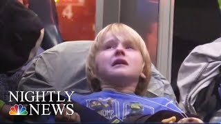 21 Children, 2 Adults Injured In Gym Stairwell Collapse | NBC Nightly News thumbnail