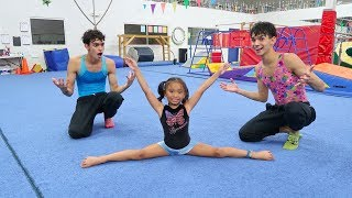Download LEARNING GYMNASTICS WITH OUR FAVORITE GIRL Mp3 and Videos