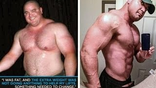 One of OmarIsuf's most viewed videos: From FAT Powerlifter to JACKED Metrosexual...The Mark Bell Story
