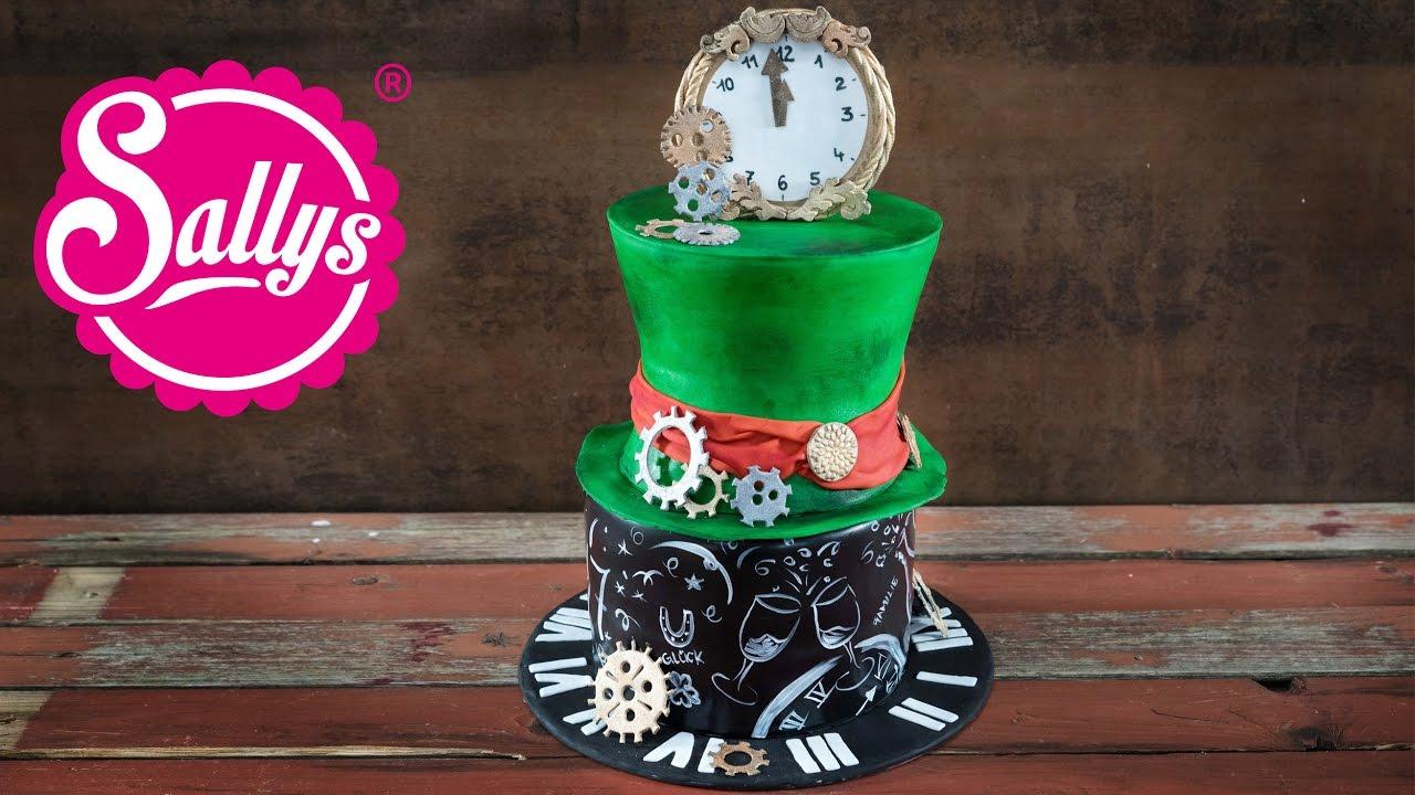 Silvester Torte New Year S Eve Cake Motivtorte Alice Im