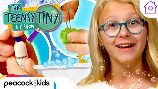 Tiny Shower Prank | Kids Crafts at Home | TEENSY TINY DIY SHOW #stayhome #withme