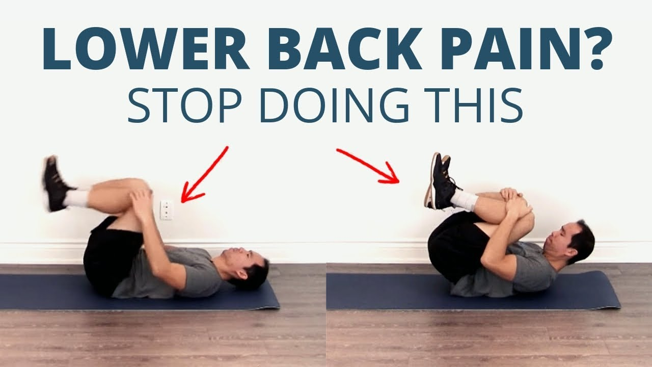 The 20 Best At Home Exercises for Low Back Pain DON'T STRETCH ...