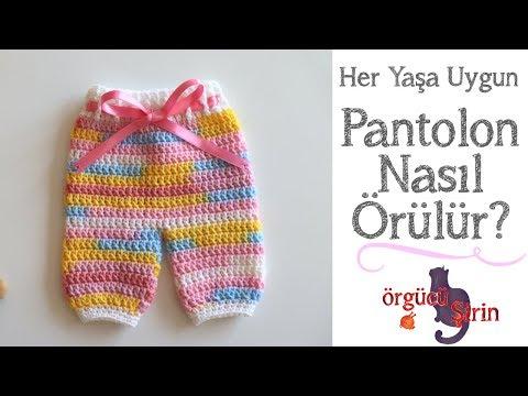 Kolay Pantolon Yapımı / Bebek Örgüleri