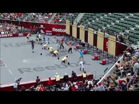 Dog-Sled: Men - 2011 CrossFit Games