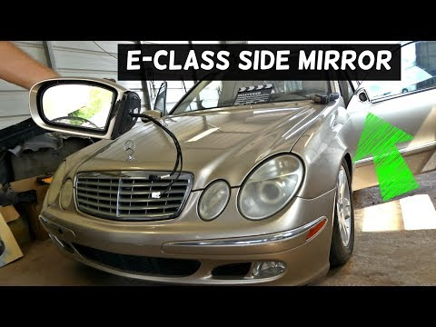 Mercedes E Class W211 Saloon 2006-5//2010 Wing Mirror Indicator Passenger Side