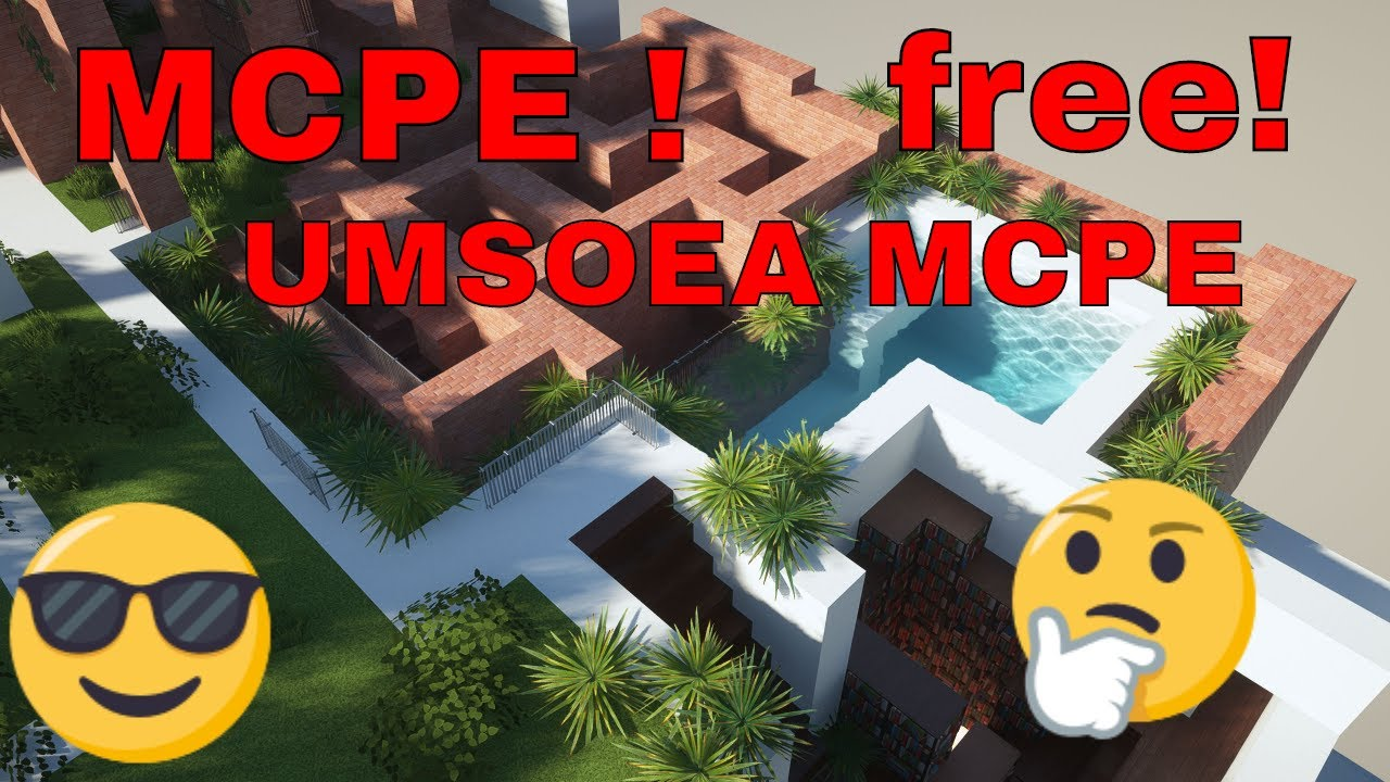 Umsoea for mcpe  Download  FREE  Bedrock Edition - YouTube