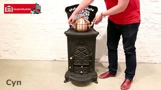 Чугунная печь Bestfire Челси - обзор
