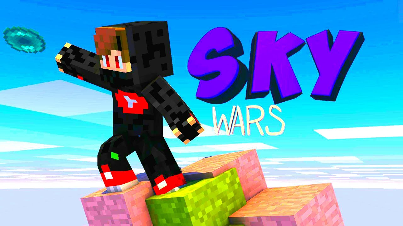 Skywars Map For Minecraft | in Hindi | Map Review | how to download Skywars Map in Minecraft Hindi