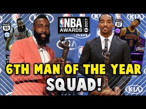 NBA 2K17 MyTEAM 6TH MAN OF THE YEAR SQUAD!! | NBA 2K17 MyTEAM AWARDS SQUAD BUILDER