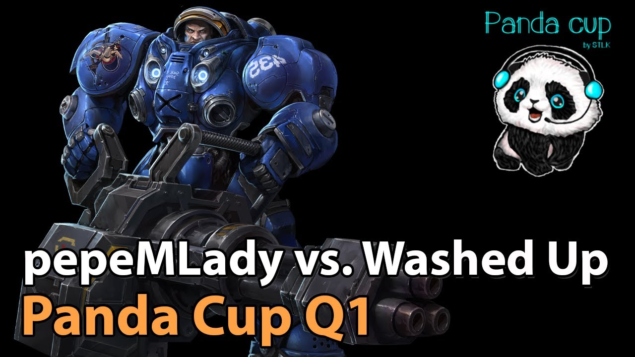 ► pepeMLady vs. Washed Up - Panda Cup Q1 - Heroes of the Storm Esports