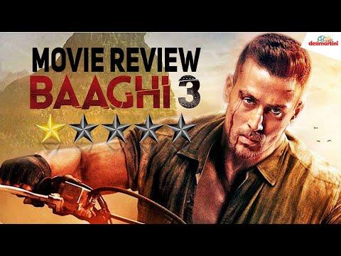 Baaghi 3 Movie Review - Tiger Shroff Shraddha Riteish Ahmed Khan