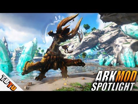 Monster ARK: Hunting Evolved MOD SPOTLIGHT - ALL ABILITIES Ark: Survival Evolved Monster Hunter MOD