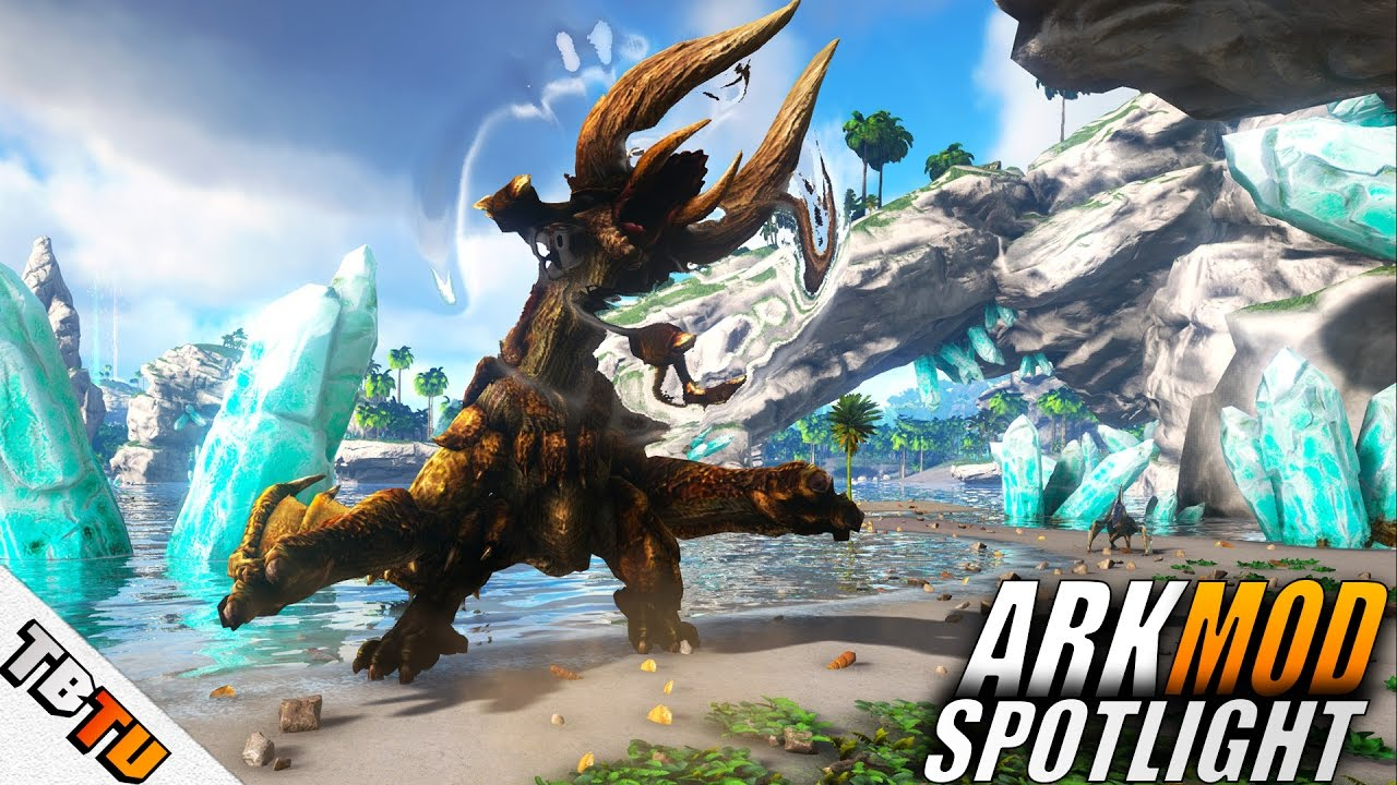 Monster ARK: Hunting Evolved MOD SPOTLIGHT - ALL ABILITIES Ark: Survival  Evolved Monster Hunter MOD
