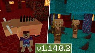АДСКОЕ ОБНОВЛЕНИЕ УЖЕ в Minecraft PE 1.14.0.2 (КОНЦЕПТ)!