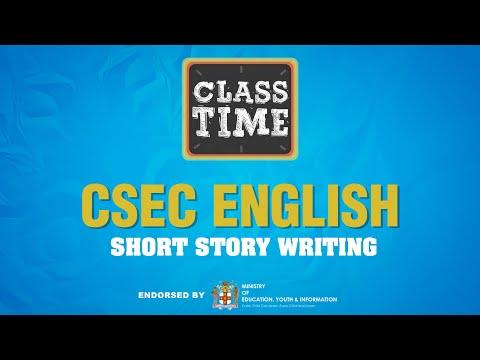 CSEC English   Short Story Writing   - June 28 2021