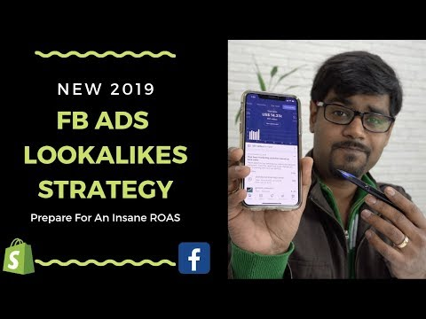 New Lookalikes Strategy For Facebook Ads 2019 (Shopify Dropshipping) thumbnail