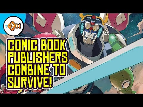 Comic Book Publishers MERGE TO SURVIVE!