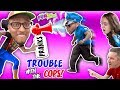 HIGH SPEED POLICE CHASE SKIT!! PUBLIC PRANKS, FUNNY FALLS, HYSTERICAL CAR FUN!