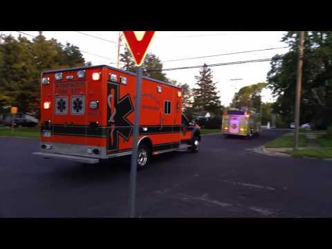 Washington Engine 3 and Medic 2 responding