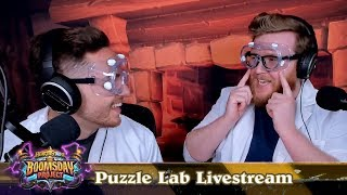 The Boomsday Project: Puzzle Lab Livestream